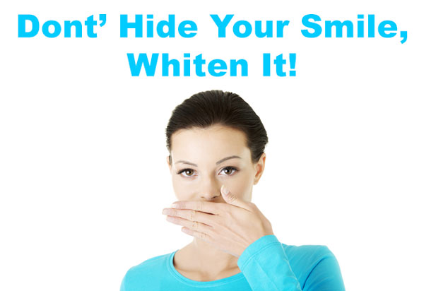 Whiten Teeth at South Charlotte Dentistry