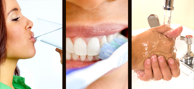 Charlotte Water, clean teeth, fluoride, South Charlotte Dentistry